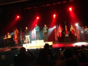 podium Individuelle du Six Blanc 2014