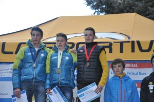 Podium Verticale race site