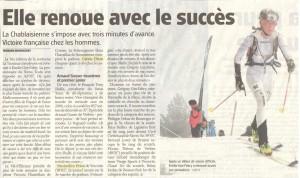 Article Nouvelliste 11 mars 2014 Nocturne La Tzoumaz
