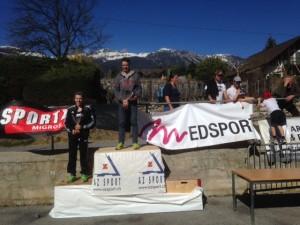 course du soleil podium 2014