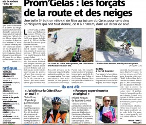 Article Nice Matin 11 mai 2015 - 2