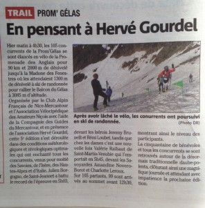Article Nice Matin 11 mai 2015