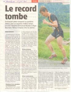 Nouvelliste 17 juin 2015 Trail Pierre a Voir