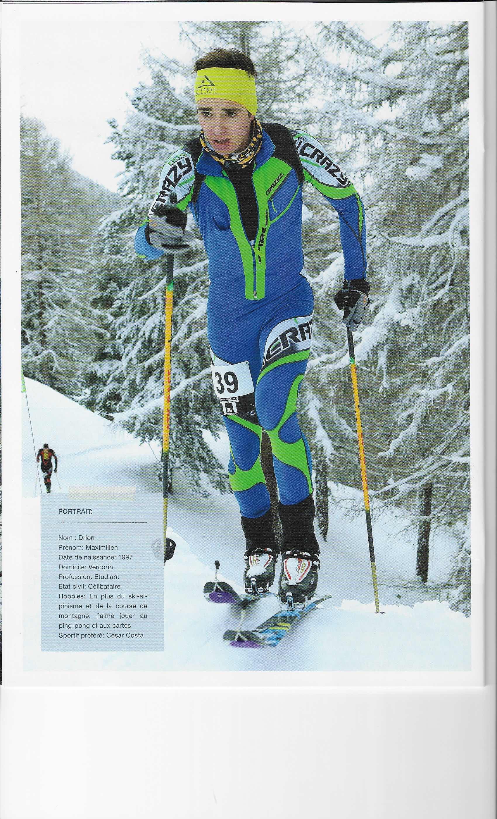 article dans le magazine de ski alpinisme skialpi de f vrier 2017 maximilien drion. Black Bedroom Furniture Sets. Home Design Ideas